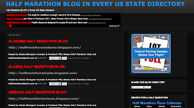 HALF MARATHON US BLOG DIRECTORY OF EVERY STATE