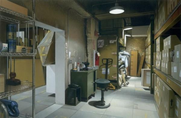 Realistic Paintings by Andrew Grassie