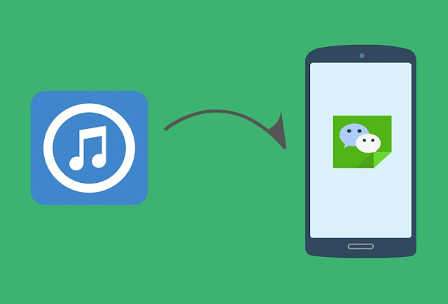 Cara Share Lagu Moment WeChat (Android)