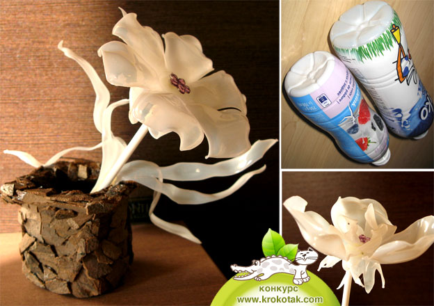 whole gallery of incredible flowers made using bottles and a flame