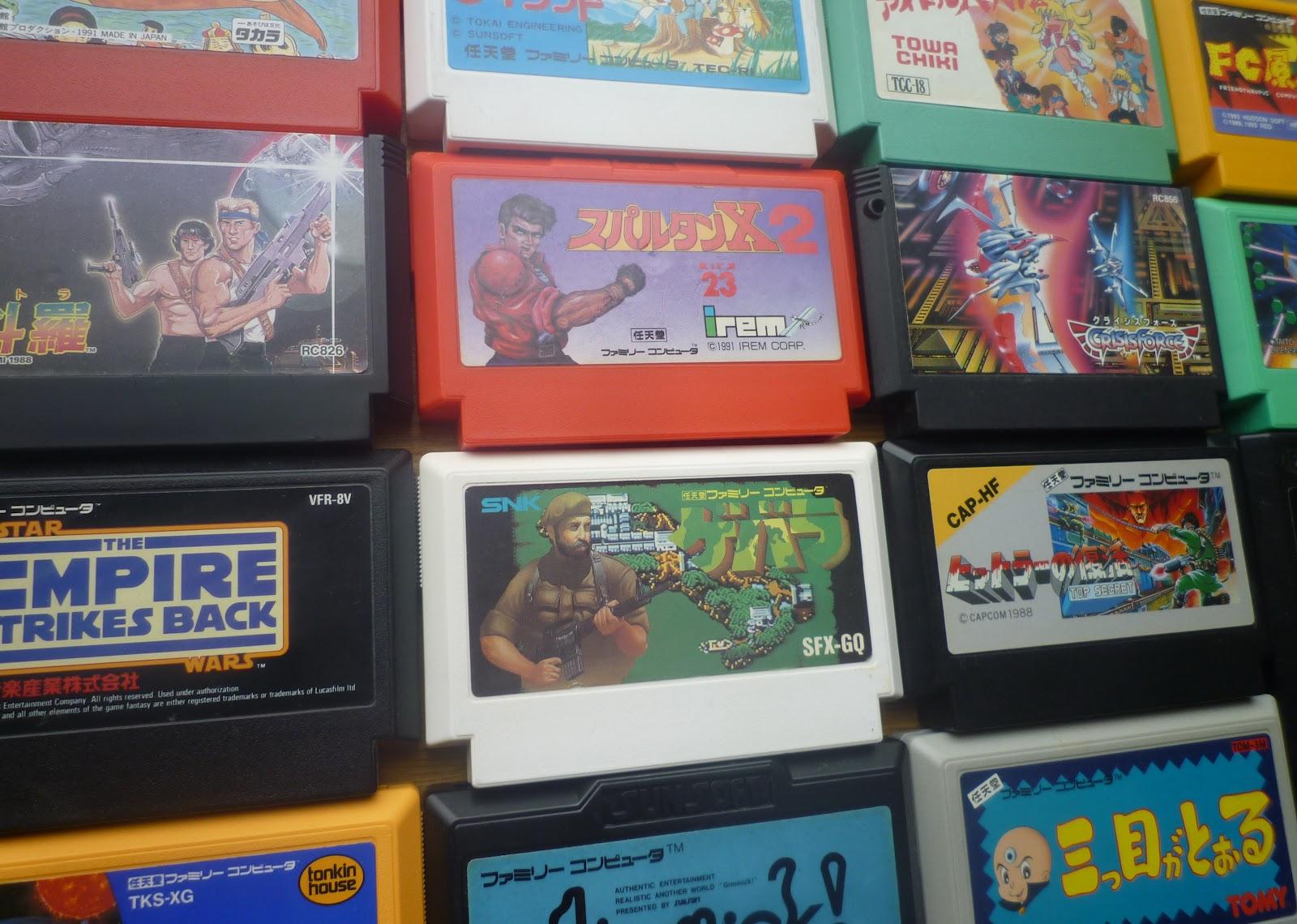famicom games list