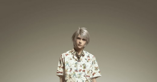 Girl Gamer Vogue: Arena Homme + features Final Fantasy's ...