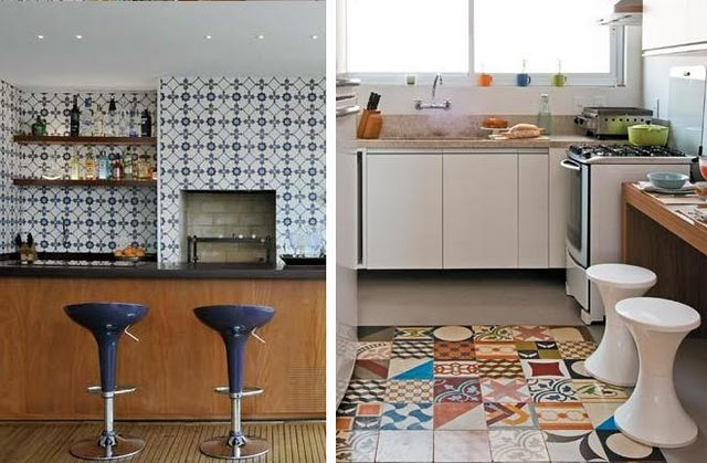 Mes caprices belges decoraci n interiorismo y for Mosaico para cocina