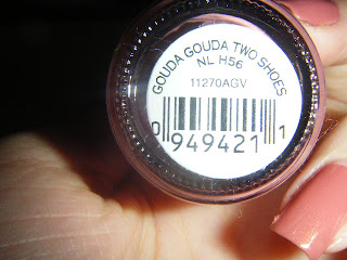 OPI Gouda Gouda Two Shoes Label