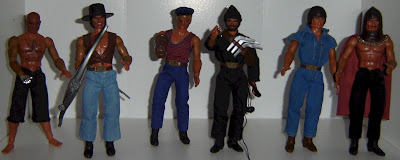 Mattel's Big Jim PACK Figures