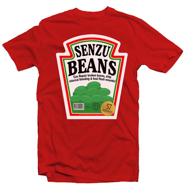 senzu beans tshirt