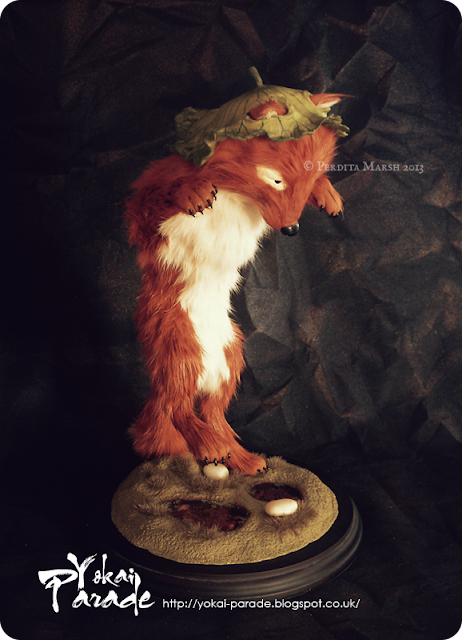 Kitsune fox art © Perdita Marsh 2013