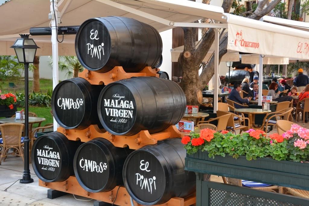 Malaga El Pimpi wine