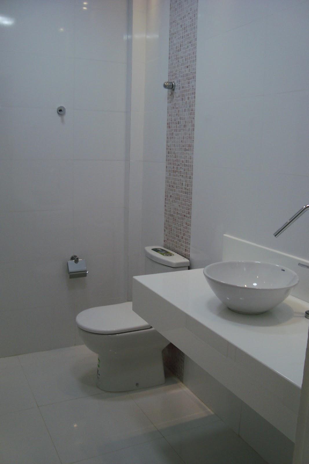 Contando Meus Sonhos: BANHEIRO SOCIAL BANCADA PRONTA #566975 1067x1600 Banheiro Com Azulejo Retificado