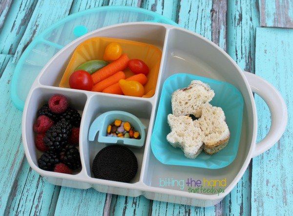 Simple Elephant Lunch in a Boon Trunk Lunch Box