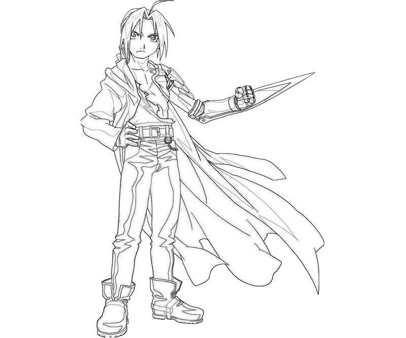 printable-edward-elric-pose_coloring-pages-3