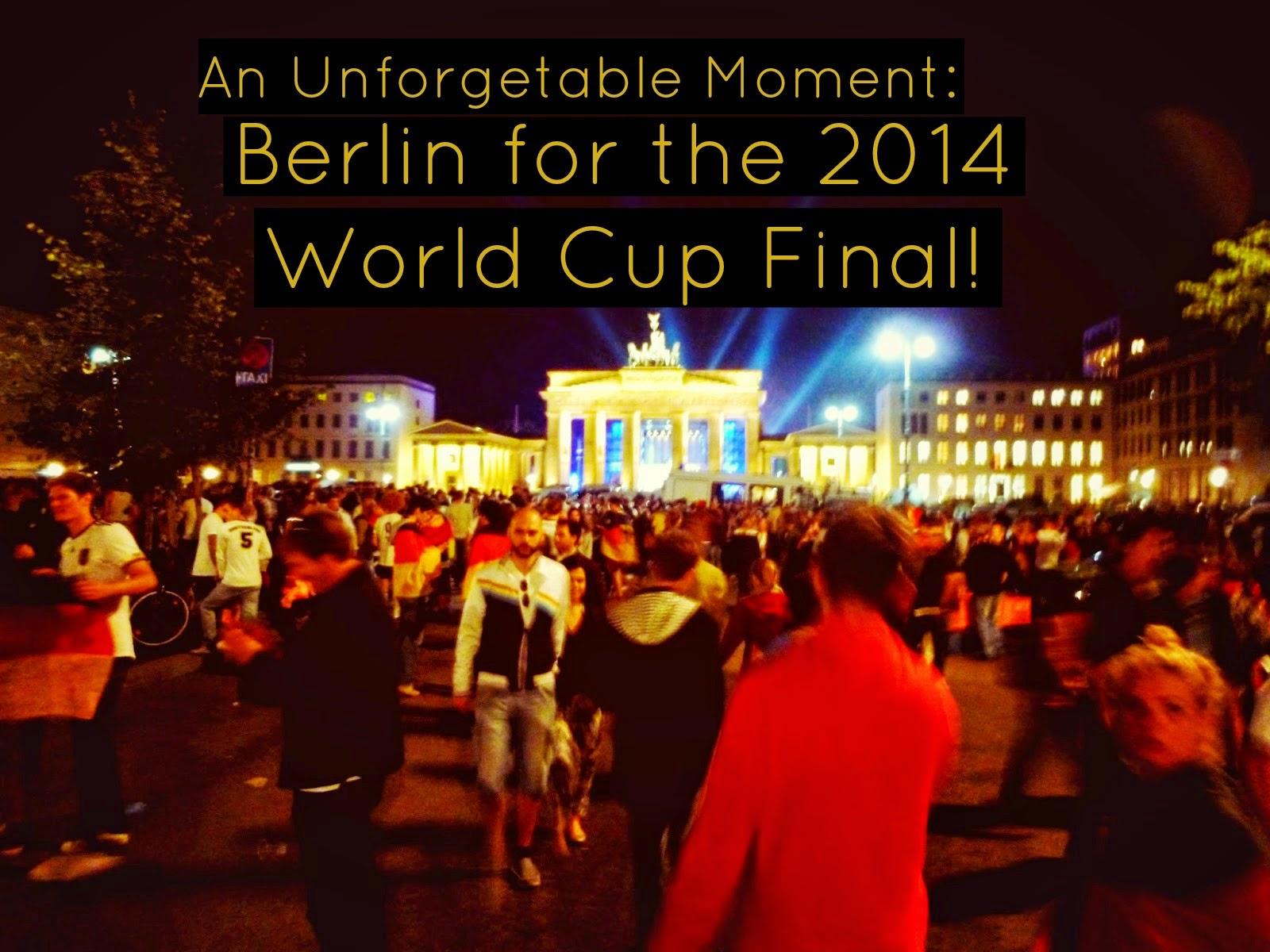 World Cup Final 2014 Berlin