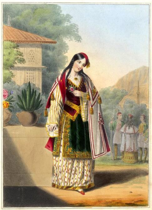 An Albanian Lady