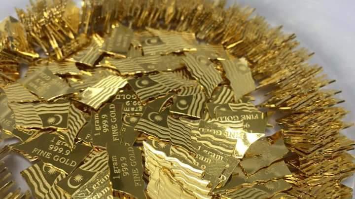 Terkini-- Goldbar Edisi Merdeka