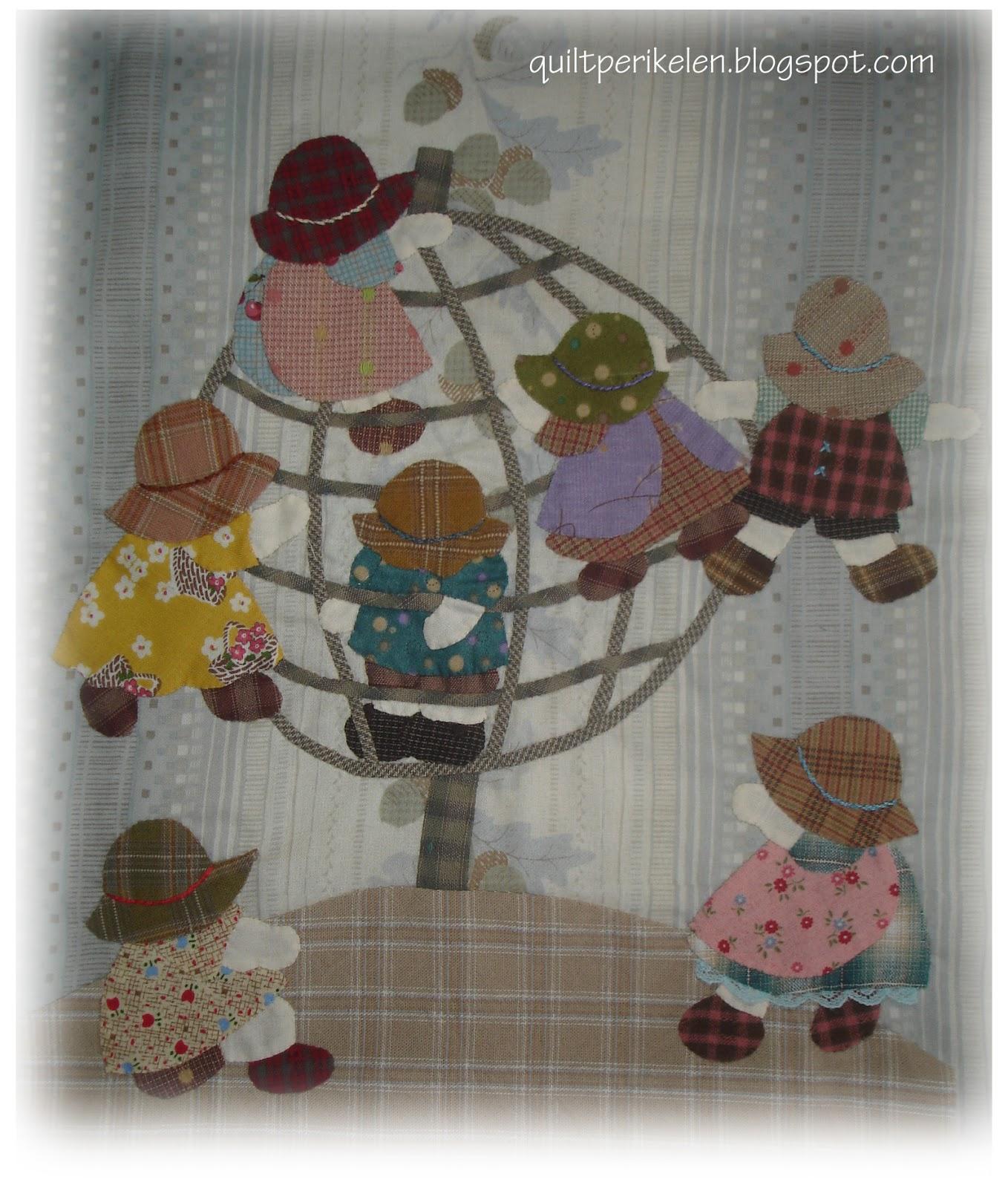 Bonnets girls kato design quilt sun japan crafts - Reiko kato patchwork ...