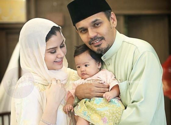 Wajah sebenar Yahaira, anak Yusry dan Lisa Suihani didedah