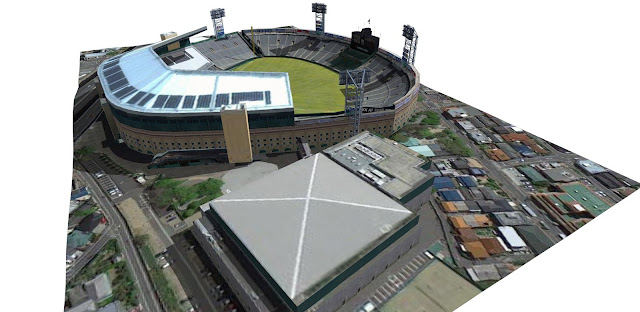 Google街景也有進入球場內拍攝 ...