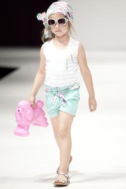 de Moda Infantil FIMI, realizada en Valencia España, sus últimas creaciones en ropa para niñas y niños, para la temporada primavera verano 2014.