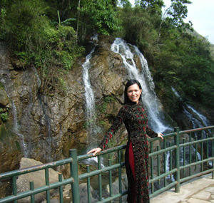 Cát Cát waterfall in Sapa