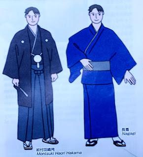 kimono hakama nagagi Meiji Resterasyonu