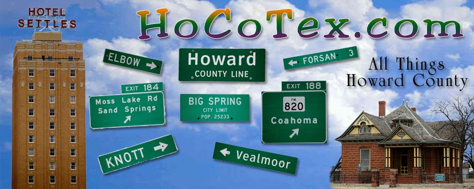 HoCoTex - People, Places and Things of Howard County, Texas