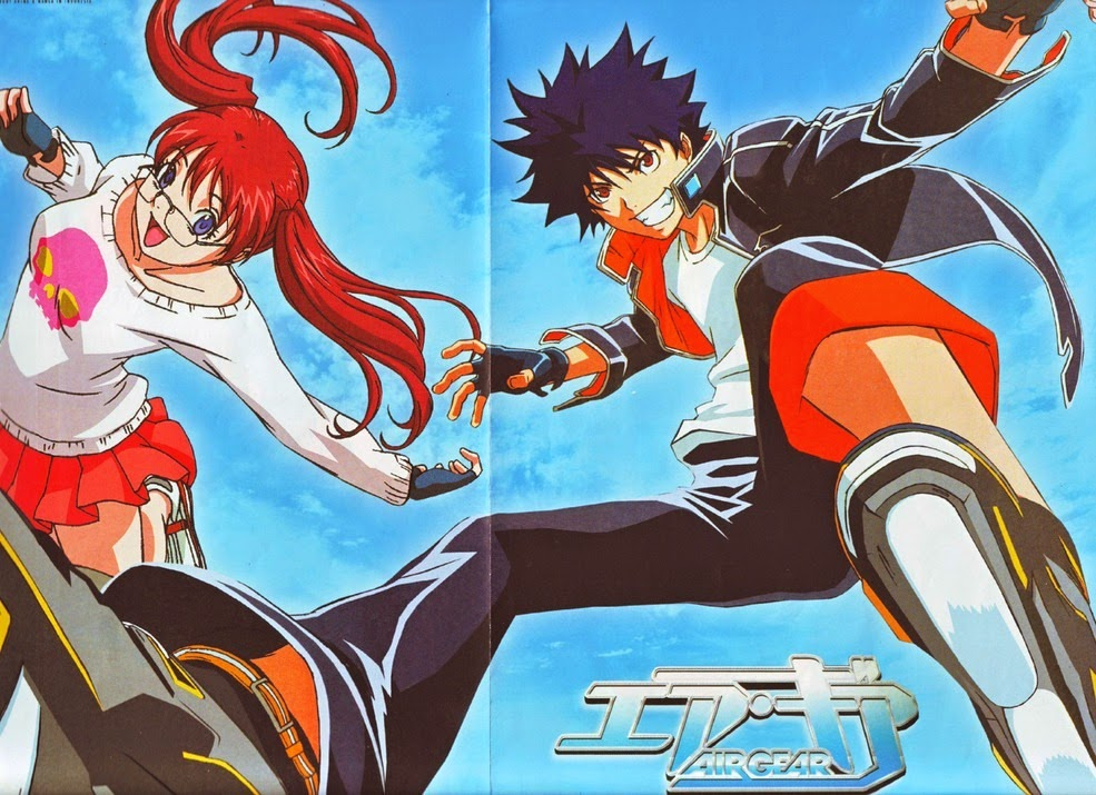 Air Gear Episode 1-25 (end) Sub Indo