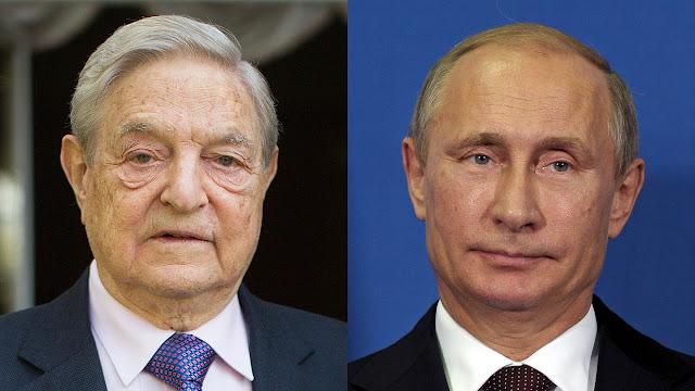 Εδώ γελάμε με το ανέκδοτο της ημέρας! O Soros κατηγορεί τον Πούτιν για «εγκλήματα κατά της ανθρωπότητας» στη Συρία