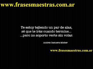 frases de Andrés Castuera-Micher
