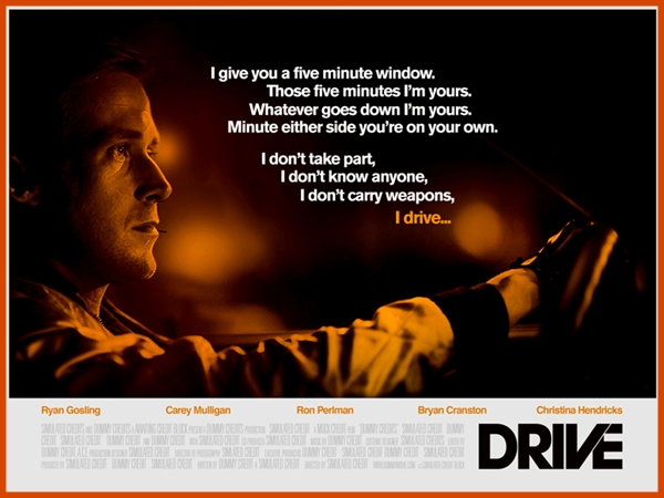 Drive fan made poster, alternative, Emilio Luna