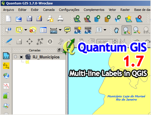 Drawing Lines In Quantum Gis : Processamento digital