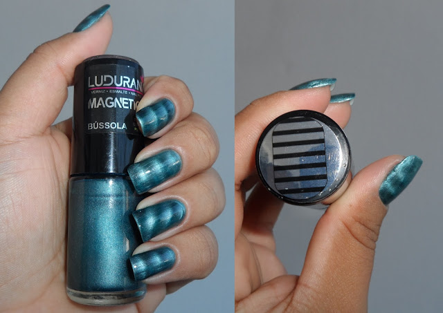 Esmalte Magnético Bússola, Ludurana
