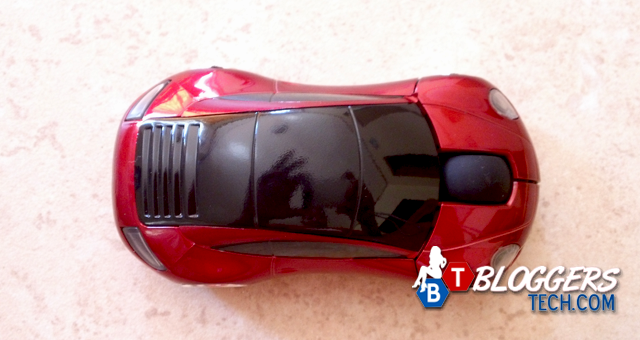 7300 Car Shaped 2.4G Wireless Optical Red Mouse Review