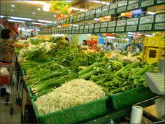 Trưng bày hàng siêu thị