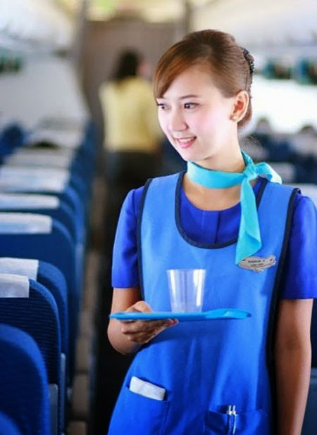 Naked Flight Attendant http://worldscrews.blogspot.com/2011/10/marketing-campaign-of-bangkok-airways.html