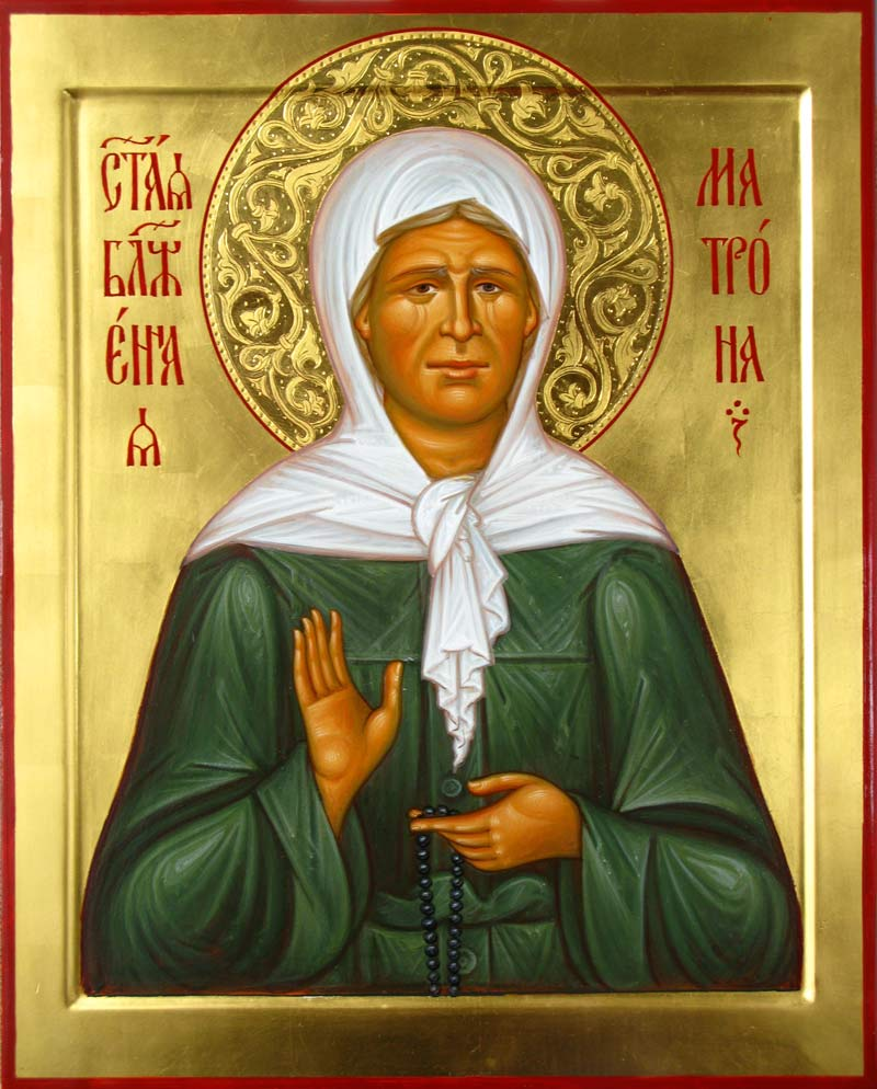 Biography of the Matrona of Moscow