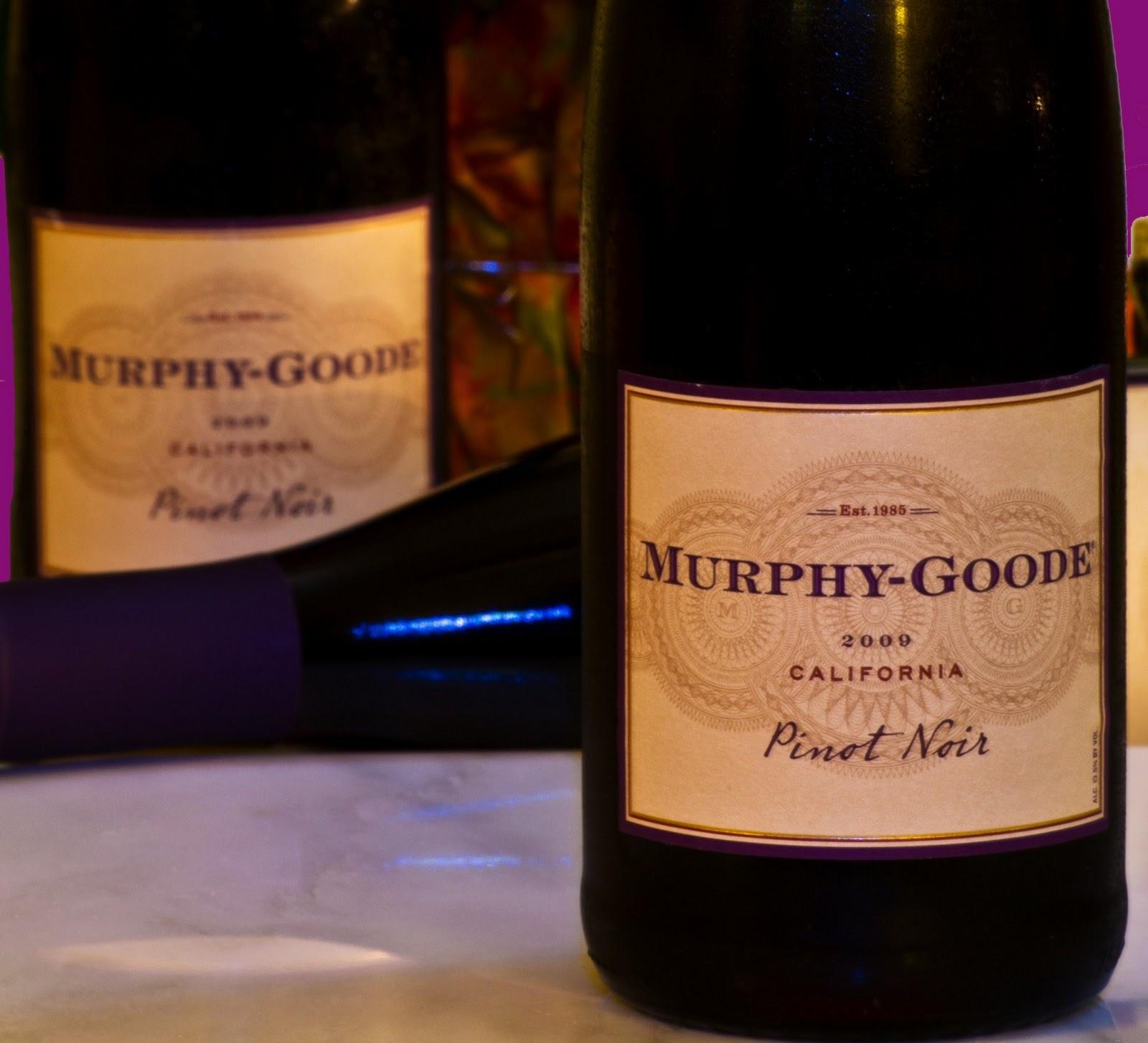 New Hampshire Wine Man Murphy Goode 2009 Pinot Noir
