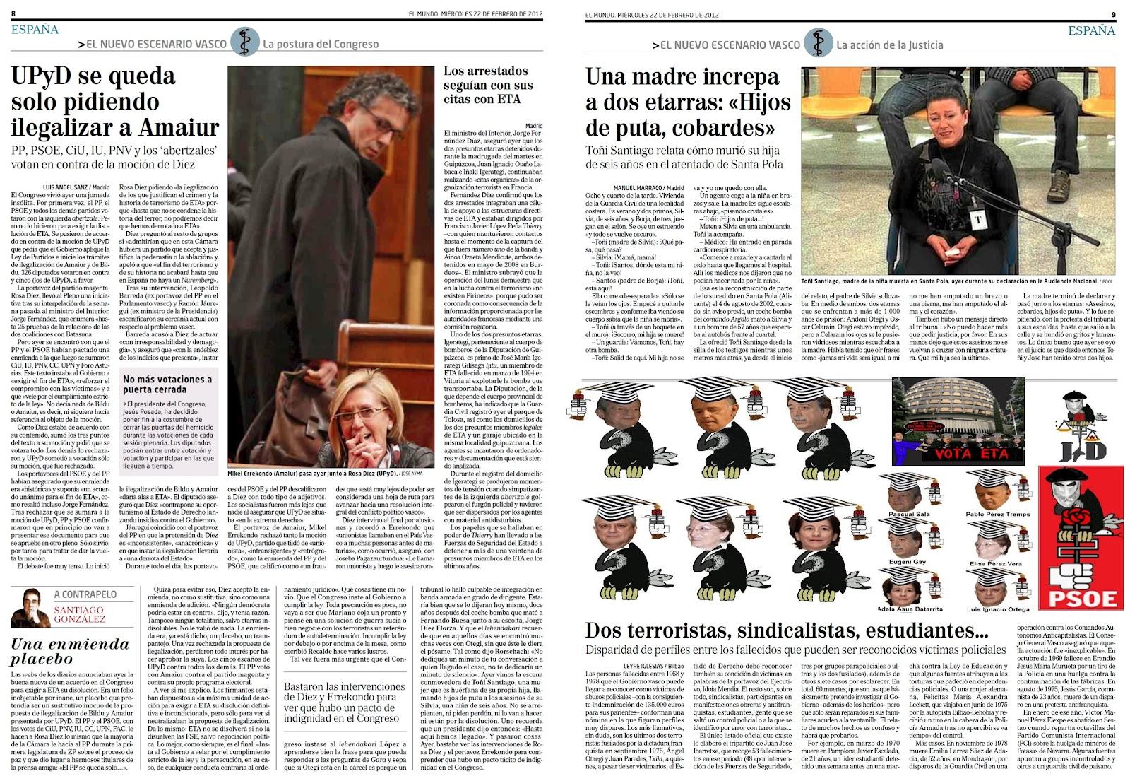 ¿Qué pasa con las denuncias de corrupción y financiación del partido contra Pepiño Blanco de los propios militantes y altos cargos del PSOE de Ibiza?