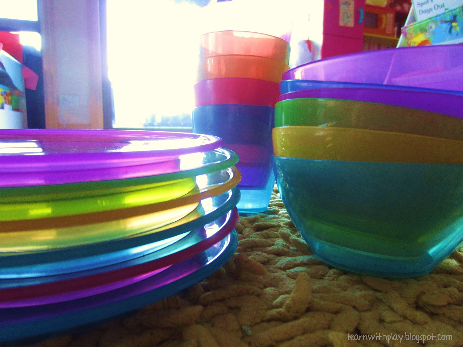 You will need some plastic plates cups ... & Learn with Play at Home: Building with Plastic Plates Cups and Bowls