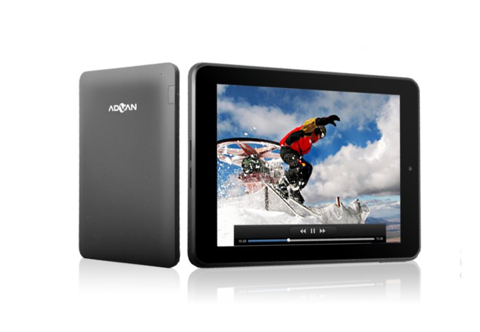 Advan Vandroid T4i ll - Harga Spesifikasi Tablet Android 8 Inch Dual