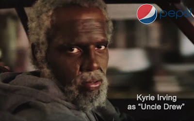 Pepsi Ad - Kyrie Irving as Uncle Drew