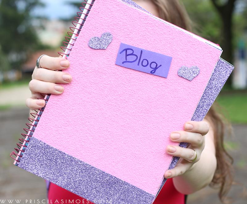 capa de caderno personalizada