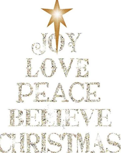 christmas sayings joy love peace