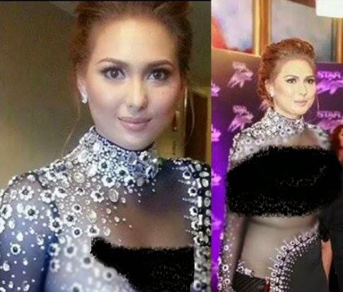 LOOK Kristel Moreno's No-Underwear Attire forges her to Shed Tears