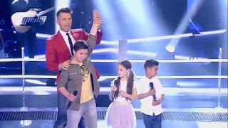 Lyly, Fernando y Antonio cantan Amor de San Juan de Niña Pastori