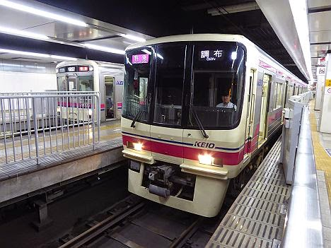 京王電鉄 特急 調布行き3 7000系幕車・8000系(関ジャニ∞臨)