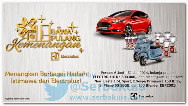 Promo Berhadiah Utama Mobil FORD NEW Fiesta 1.5 L Sport