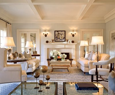 Amazing Living Rooms To After The Enchanted Home. Living Room Cozy Elegant ...