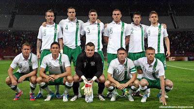 Republic Of Ireland National Football Team Euro 2012 Hd Desktop Wallpaper