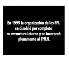 LOS ENEMIGOS CONTRARREVOLUCIONARIOS Del FRENTE FMLN DERECHA Ex-fpl