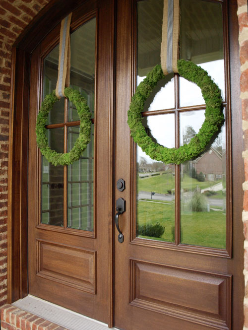 Front Door Flower Basket How-To & Front Door Flower Basket How-To | Less Than Perfect Life of Bliss ...